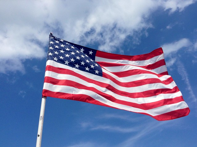 American Flag, from Flickr via Wylio