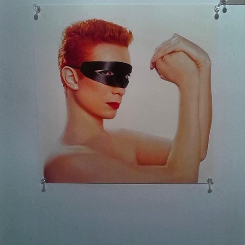 Cover of Eurythmics' 1983 album Touch, recreated by Michael Venus for Nuit Rose