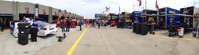Charlotte Motor Speedway Sprint Cup Garage Panoramic