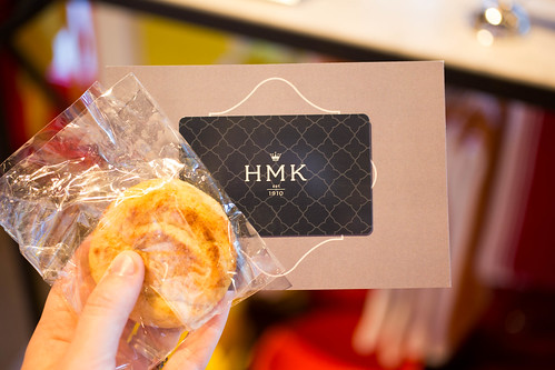 Gift card at HMK in Southlake Town Square