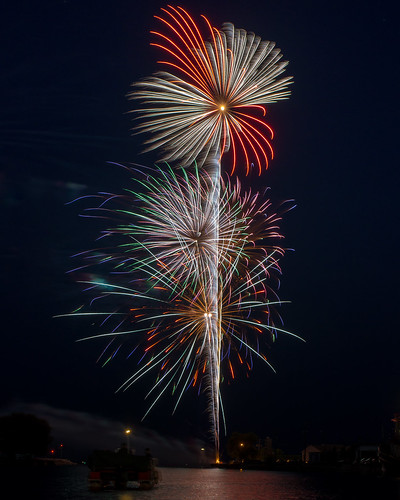 Fireworks, July 4th, Independence Day, Colorful