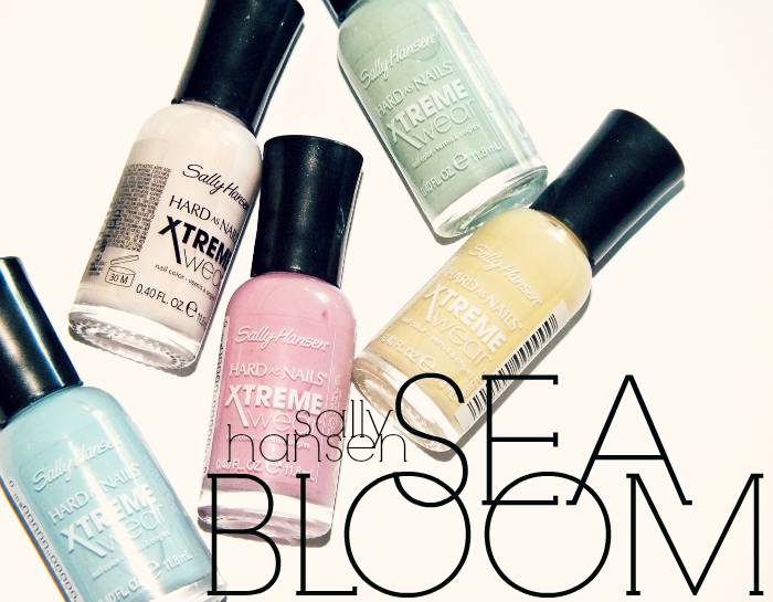 sally hansen xtreme wear sea bloom collection  (1)
