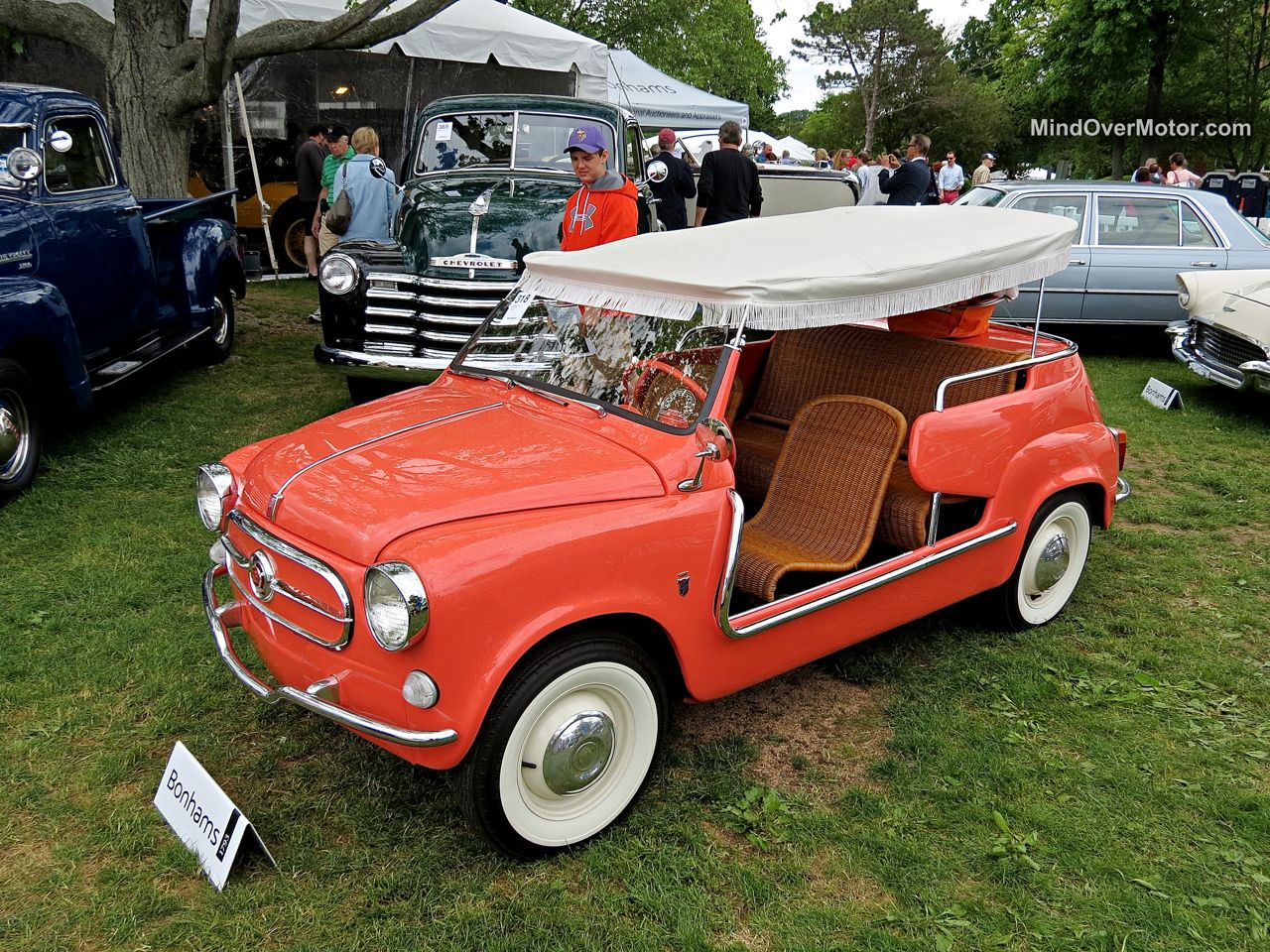 Fiat 600 Beach Car at the Greenwich Concours