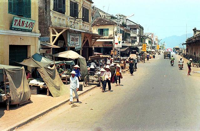Street Scene In Da Nang - 1970