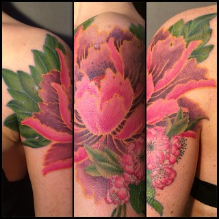 Pivoine Tattoo by Paco