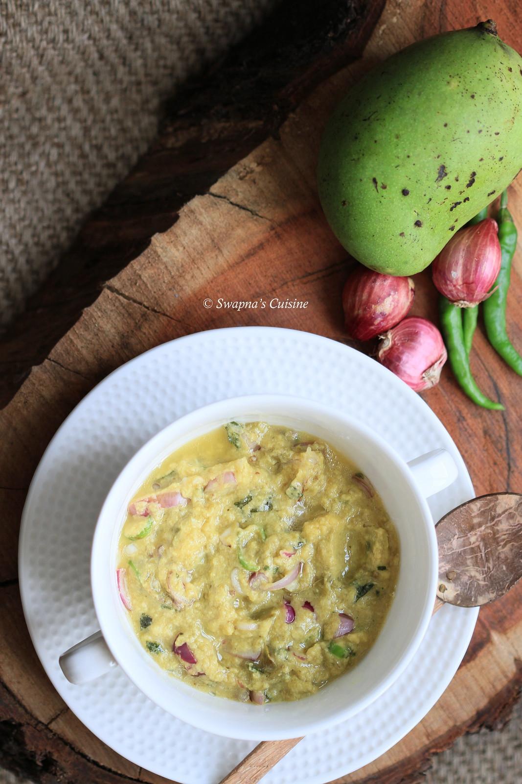 Salted Mango Chmanthi