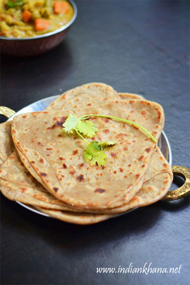 Plain-Paratha-Triangle-Paratha-Recipe