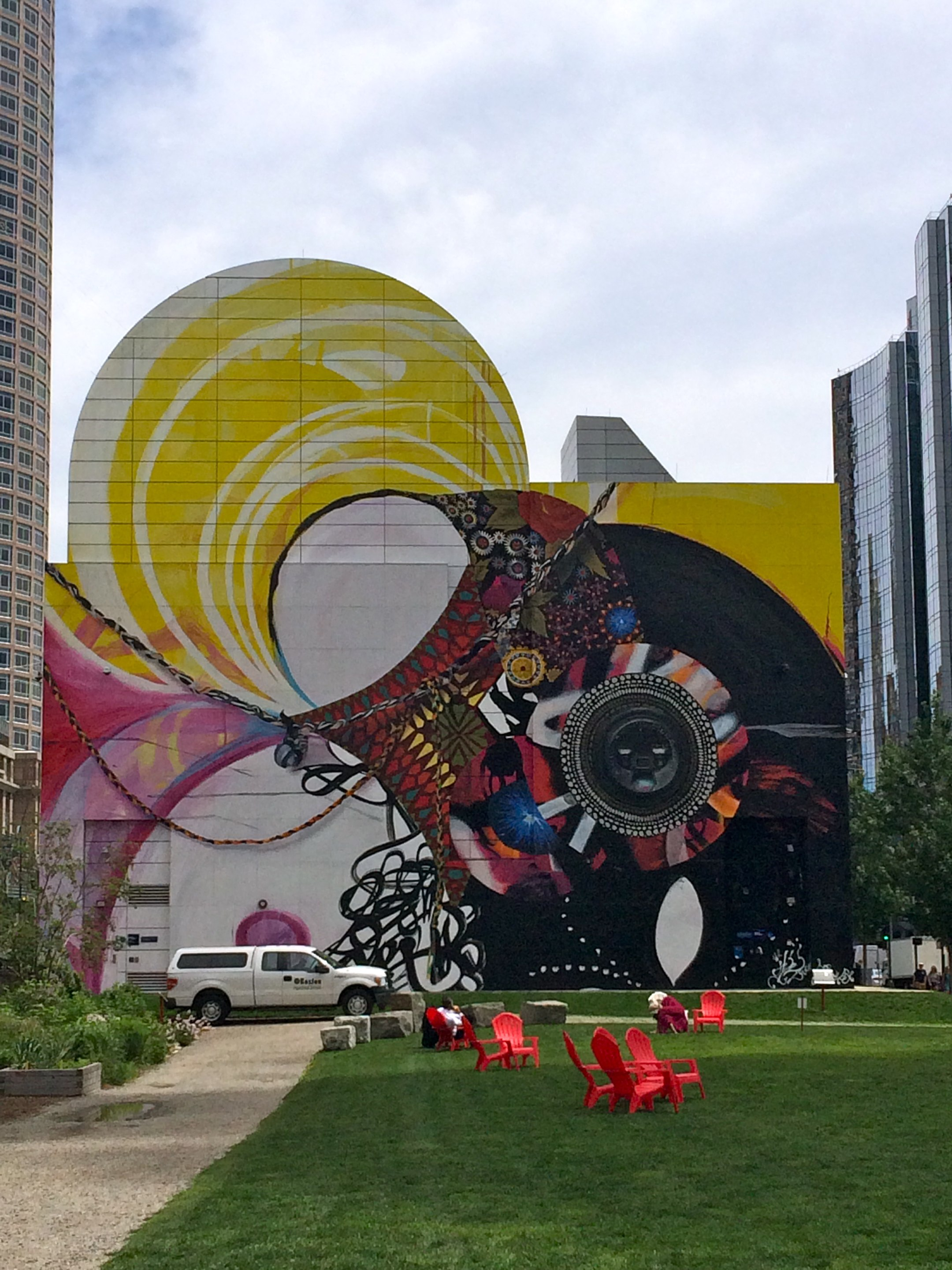 Mural at dewey square park flickr photo sharing for Dewey square mural