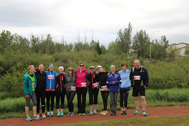 Group Photo for start of 10K