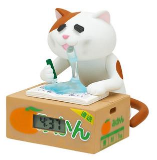 昇天寸前!熬夜的貓咪時計~ 徹夜ねこウォッチ