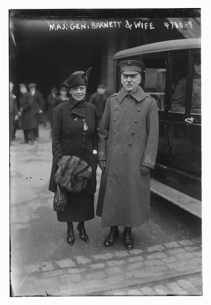 Maj. Gen. Barnett & wife (LOC)