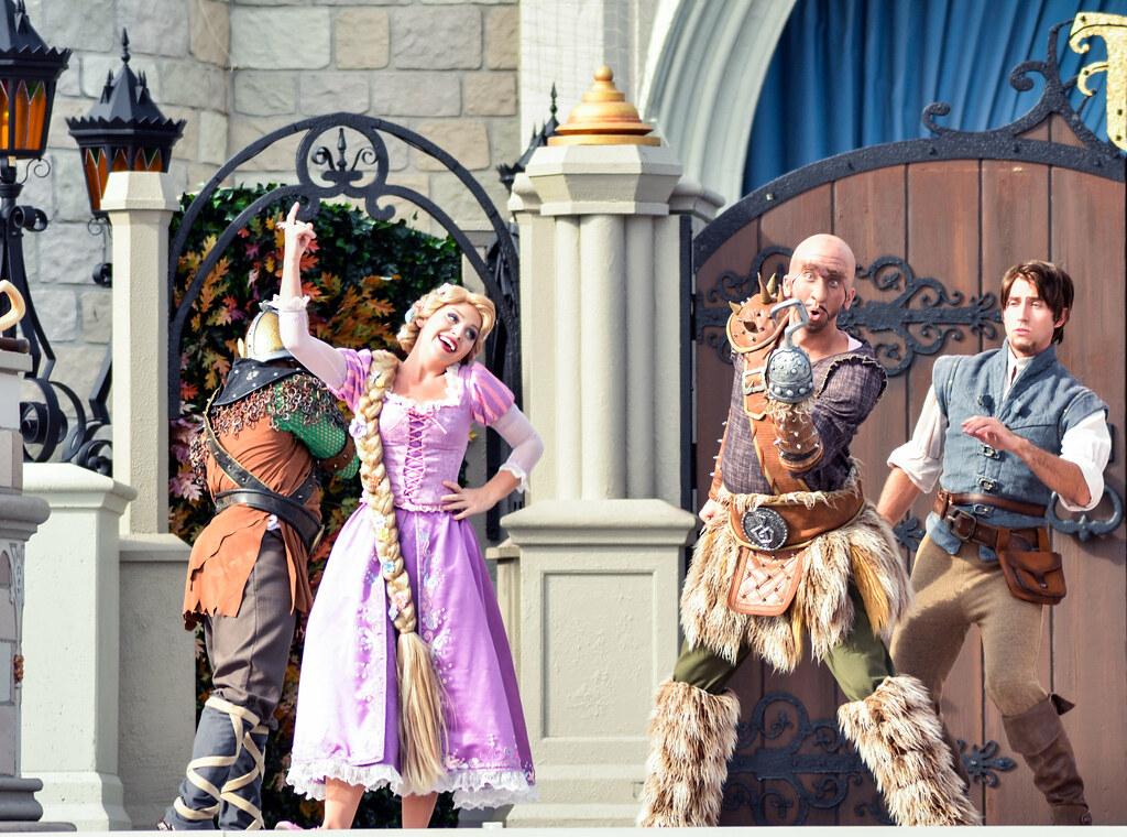 Friendship Faire Rapunzel scoundrel