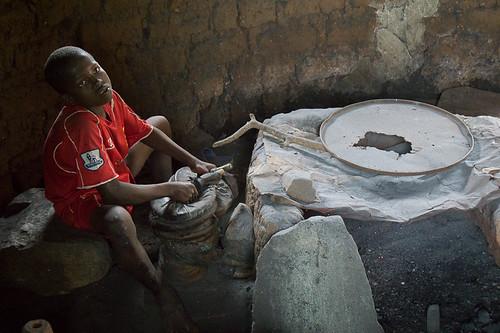 regionkara tgo togo geo:lat=966182000 geo:lon=117887667 geotagged africa blacksmith tcharé
