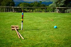 Croquet in Bodnant Garden