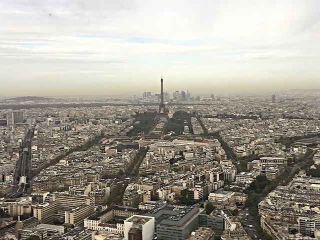 View of Paris From Tour Montparnasse