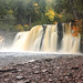 Manabezho Falls on the Presque Isle River in the Upper Peninsula of Michigan by Craig - S