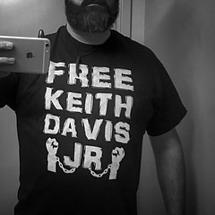 Shirt for tonight. #FreeKeithDavisJr  #sbl2k16