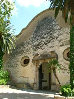 Alfabia - entrance