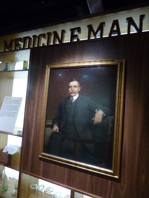 Photo:Wellcome Collection - Euston Road, London - Medicine Man - portrait of Sir Henry Wellcome By ell brown