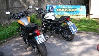 Motocykle na kategorię A i A2