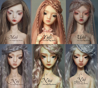 faceplates | by Doll Menagerie