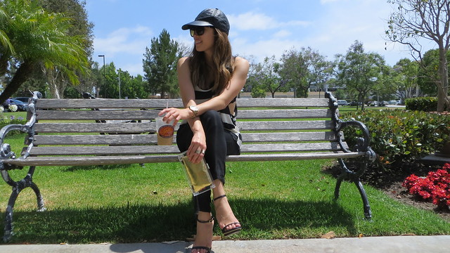 lucky magazine contributor, fashion blogger, lovefashionlivelife, joann doan, style blogger, stylist, what i wore, my style, fashion diaries, outfit, lucite clutch, leather hat, wardrobe