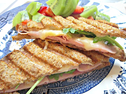 Ham, Brie, Marmalade Sammich