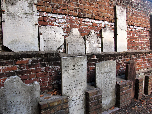 Colonial Park Cemetery Savannah