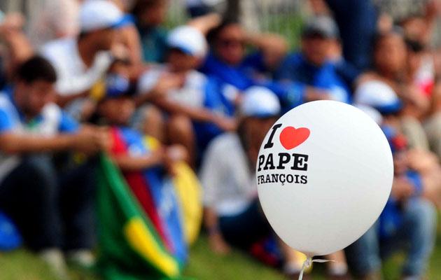 Visita del Papa Francisco a Brasil