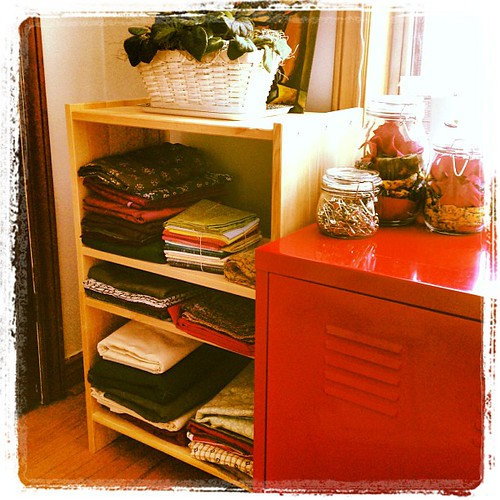 Fabric organization pleases me!