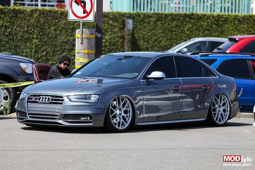 tucked Audi