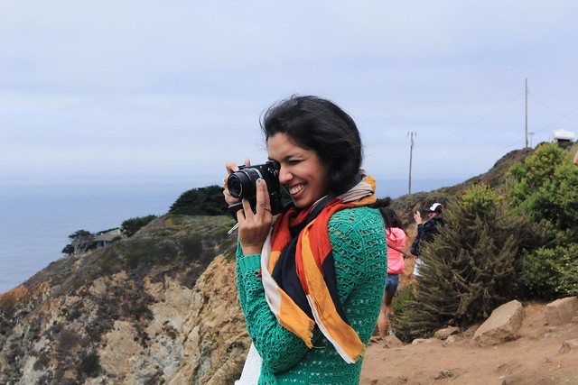 Leena at Bixby Canyon Bridge