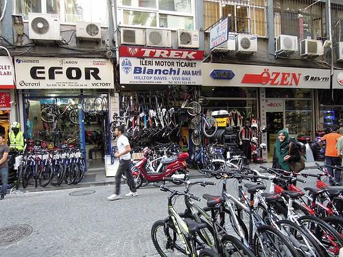 自転車店街