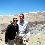 Dan and Audrey in Ladakhi Mountains - Markha Valley Trek, Hankar to Nimiling