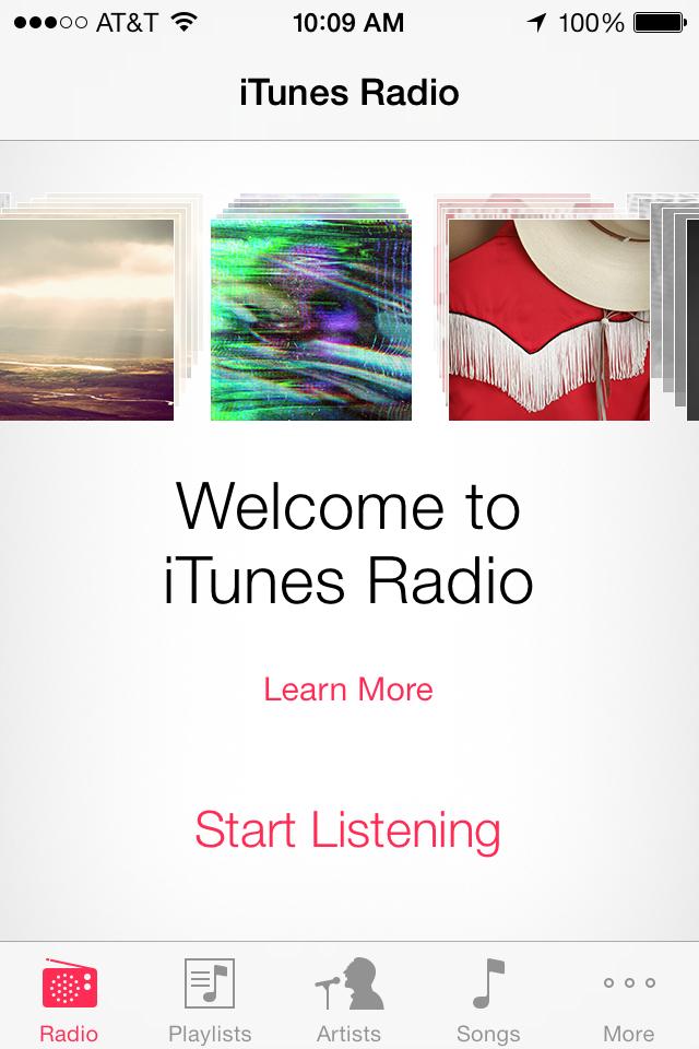 iTunes Radio 1