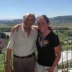 Pietro Boffa and me! Loved thier family wine!