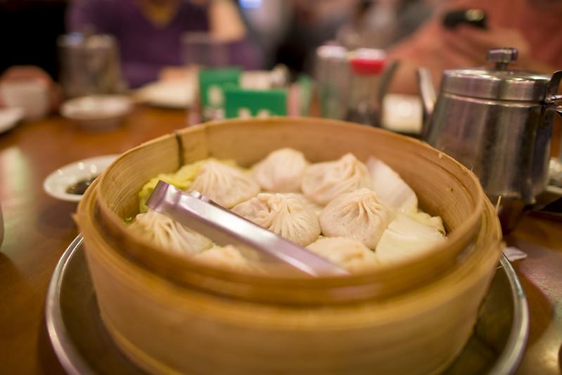 Joe's Shanghai Soup Dumplings - cheap eats NYC