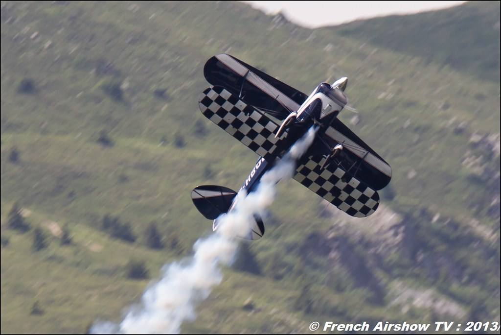 Pitts F-HBOB, Meribel Air Show 2013