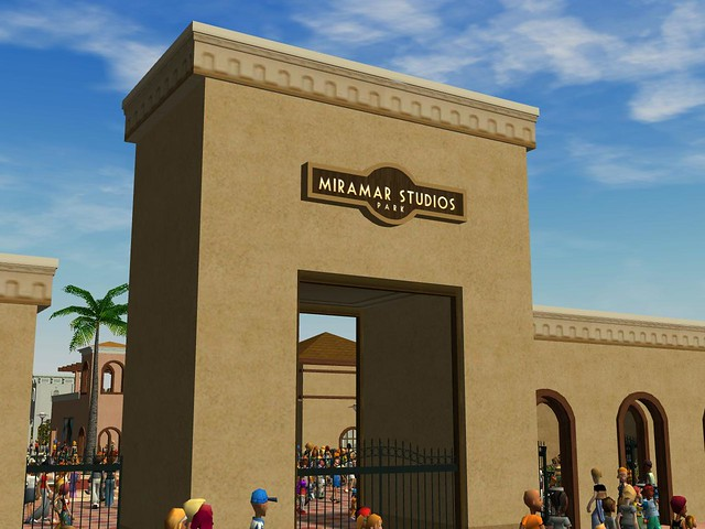 Miramar Studios Europe - Main Entrance