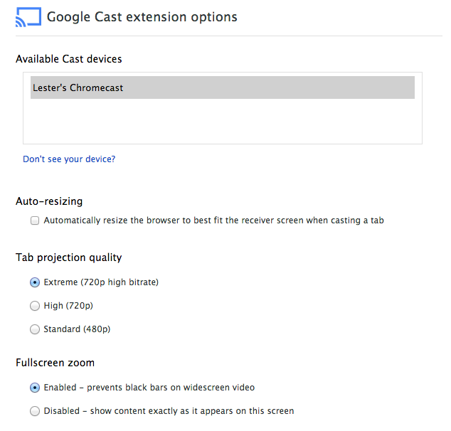 Google Chromecast - Google Cast Plugin For Chrome