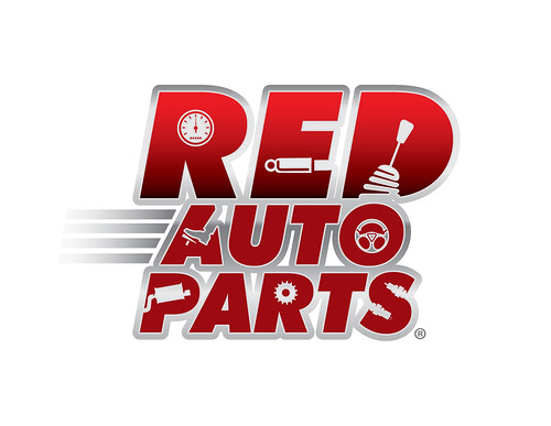 Red Auto Parts Logo