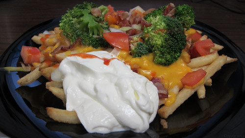 Loaded fries by Coyoty