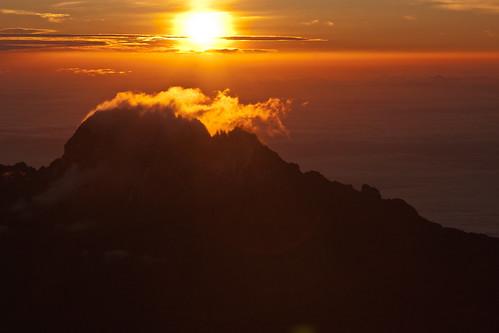 africa kilimanjaro sunrise canon gillmanspoint 40d jørnolavløkken