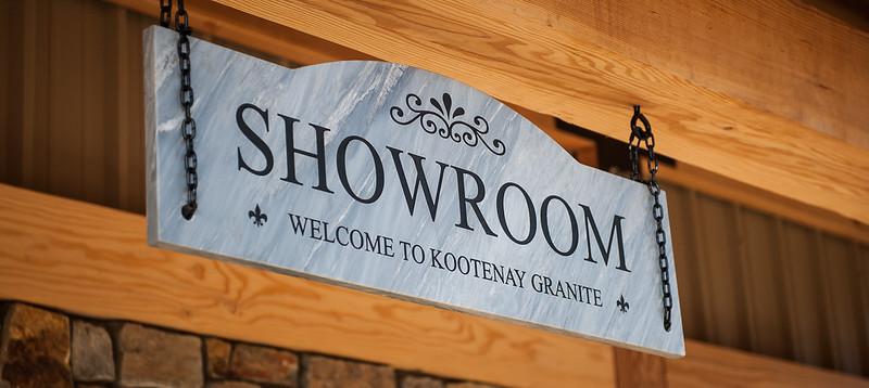 Showroom Sign