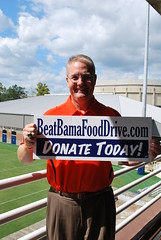 Athletic Director Jay Jacobs asks for your support of the Food Drive