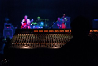 View from the Sound Board