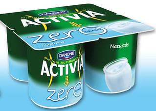 Yogurt Naturale Zero Grassi Activia