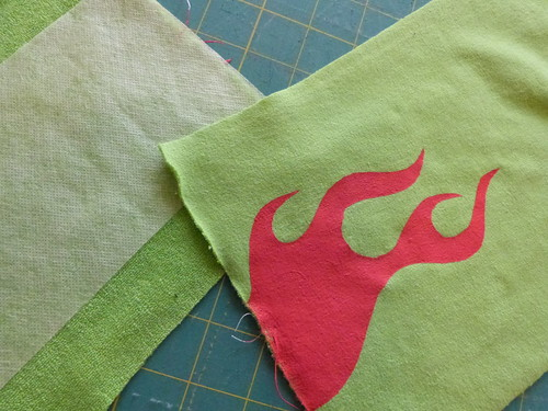 Freezer Paper Stenciling, A Tutorial