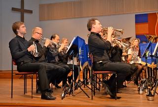 Brassbandfestivalen 2012 - Kornettsektionen - Windcorp Brass Band