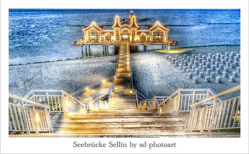 Seebrücke sellin Second Version